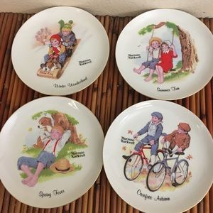 Set Of 4! Vintage Norman Rockwell Hanging …